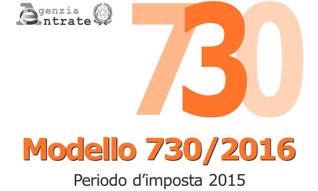 Dichiarazione redditi 730 2016 studio cristofaro for 730 dichiarazione