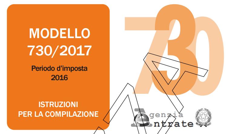 scadenza presentazione 730 2017 studio cristofaro