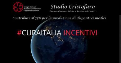 incentivi cura italia