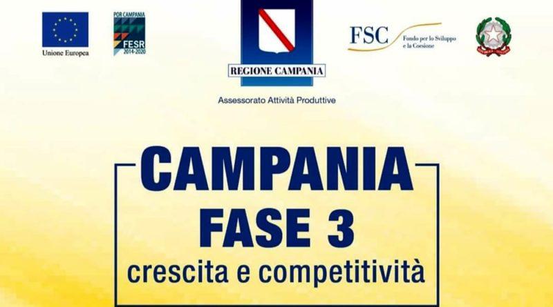 Bando, investimenti agevolati in Campania fino al 75%